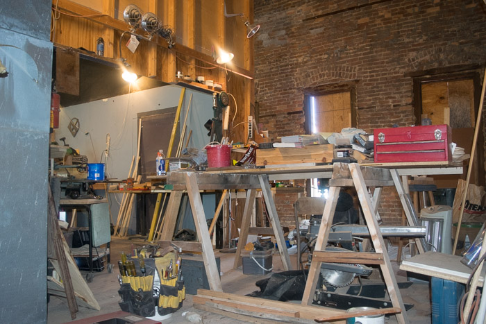 Gorgeous brick work, original furnaces, and much more detailing are going into restoring the opera house