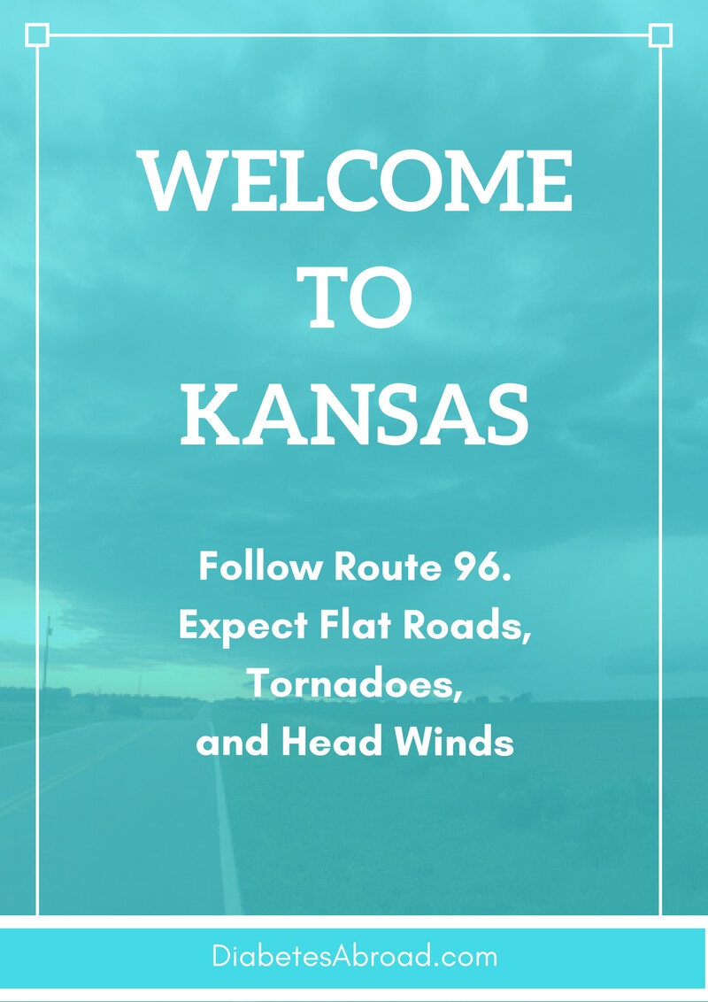 It's official. We are in Kansas!!