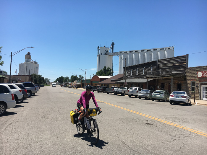 The town of Buhler, Kansas. Are you a western or farming town?