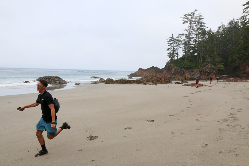 Trail running without the weight of a backpack (Photo by the talented Blair Ryan)