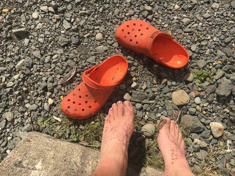 #CrocTheWorld North Coast Trail 8/19/2017