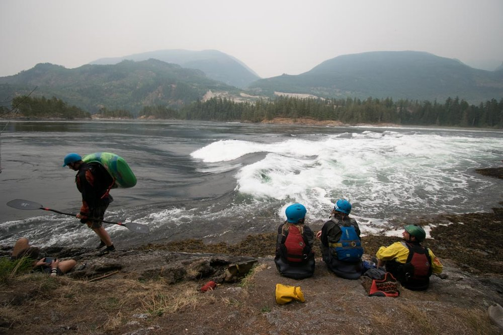 The Skookumchuck Narrows is what inspired me to do the Sunshine Coast Trail