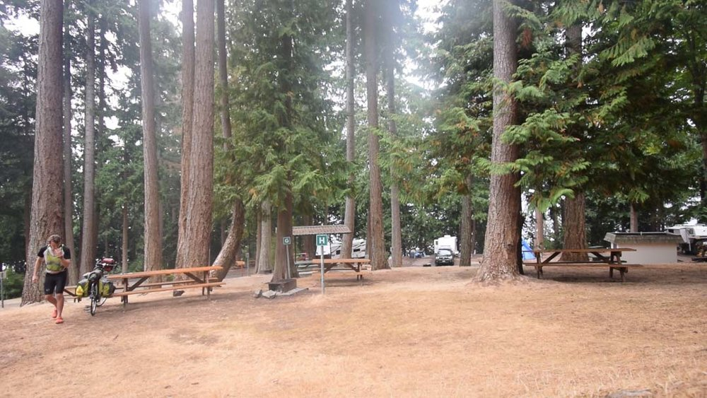 Campground in Powell River