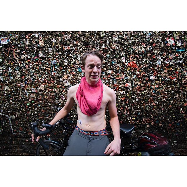 Who here has taken the bubblegum alley challenge in San Luis Obispo? - The YouTube channel is being updated more frequently so keep your eyes open 👀 - CGM spotted - #YouTube #SLO #bubblegumalley #challengeaccepted