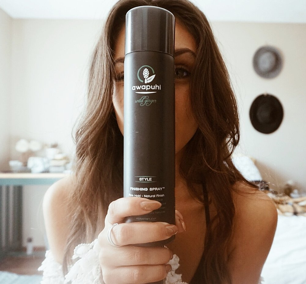 Awapuhi Finishing Spray by Paul Mitchell