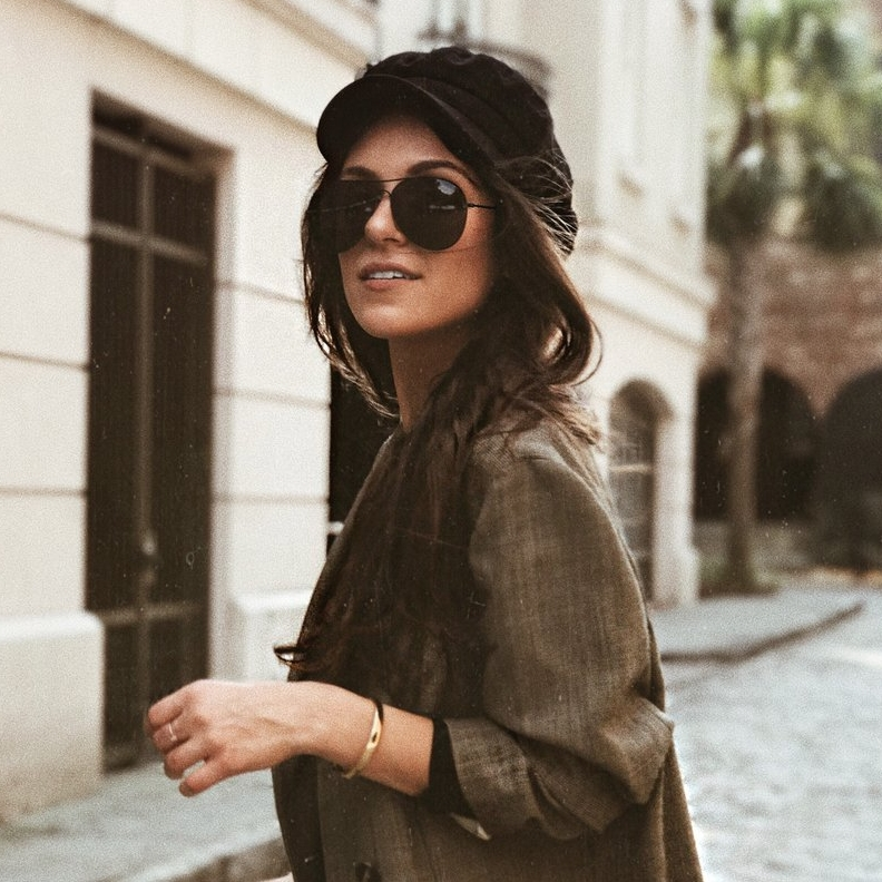 The Baker Boy Hat - This season's go to accessory is the Baker Boy hat. I recently created an entire blog post about where to shop this hat, but felt that it was too important of a trend to leave out. This is my absolute go-to for adding a cool girl flair to my look.