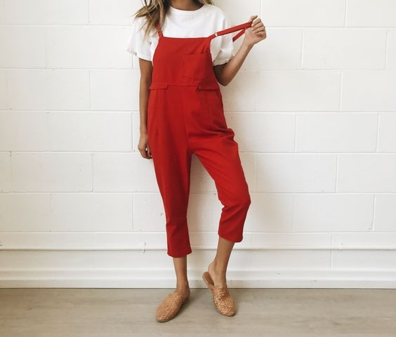 Slouchy Jumpsuit - These effortlessly cool jumpsuits are a step up from your pullover and sweats. The laid back comfortability they offer make a for a don't give AF vibe but still leaving the house looking on trend. Pair this with a trendy hat and loafer.