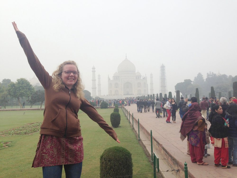 Tasia, North Carolina to India