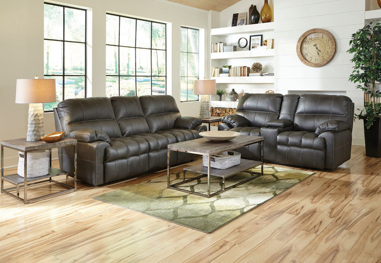 Liberty 8-Piece Living Room Group with Motion Loveseat in ...