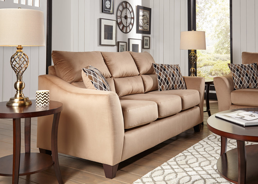 Camden 2 Piece Sofa And Loveseat