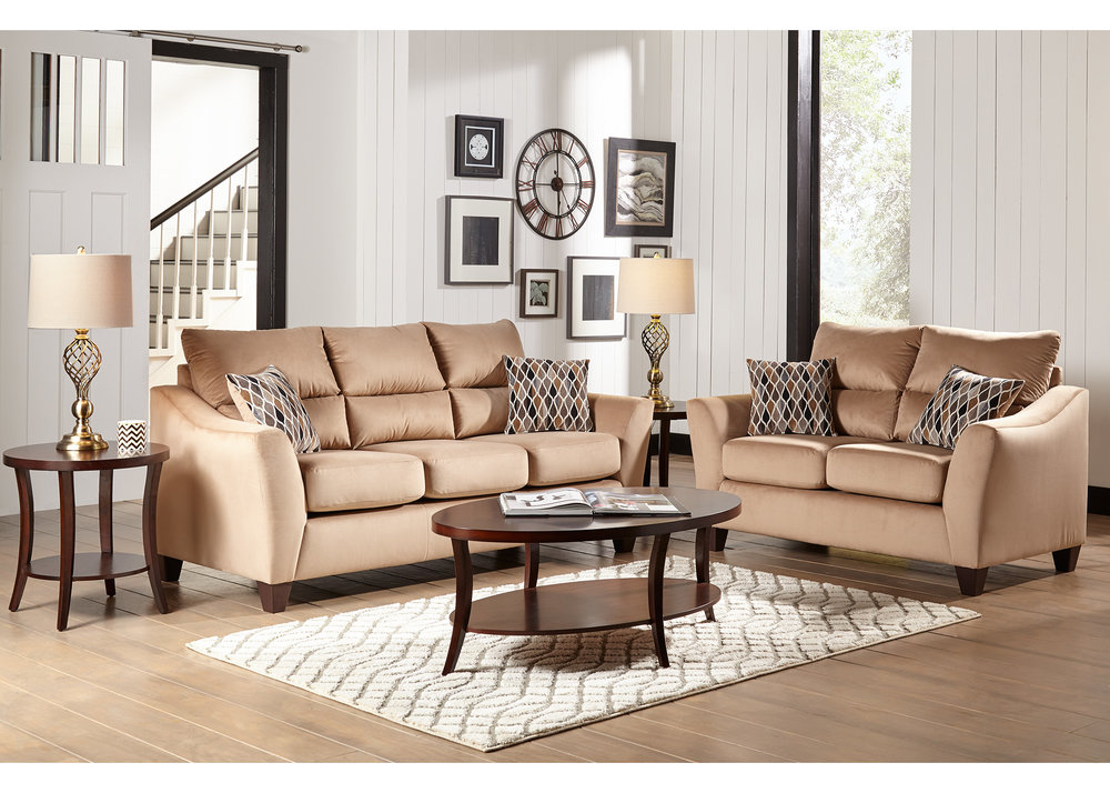 Attractive Camden 7 Piece Living Room Collection