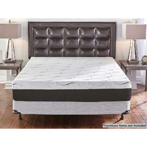 10 Memory Foam Queen Mattress Bedding Set Woodhaven