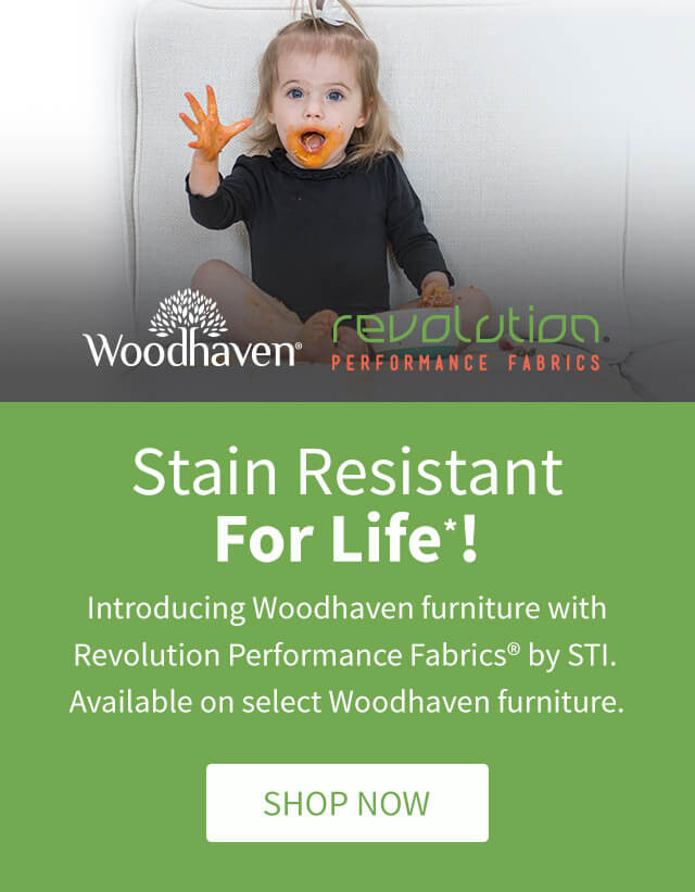 Stain Resistant For Life*!