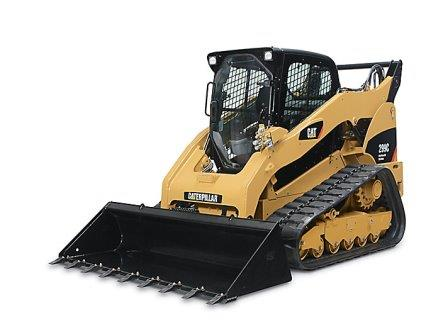 CAT 299C COMPACT TRACK LOADER  Gross Power: 94 hp Operating Weight: 10,730 lbs              View Specifications