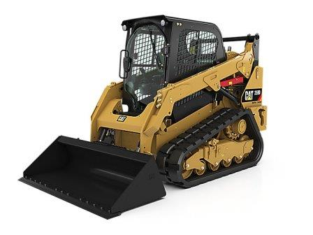 CAT 259D COMPACT TRACK LOADER  Gross Power: 74.3 hp Operating Weight: 8,945 lbs    View Specifications