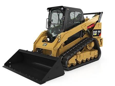 CAT 299D COMPACT TRACK LOADER  Gross Power: 98 hp Operating Weight: 10,718 lbs    View Specifications