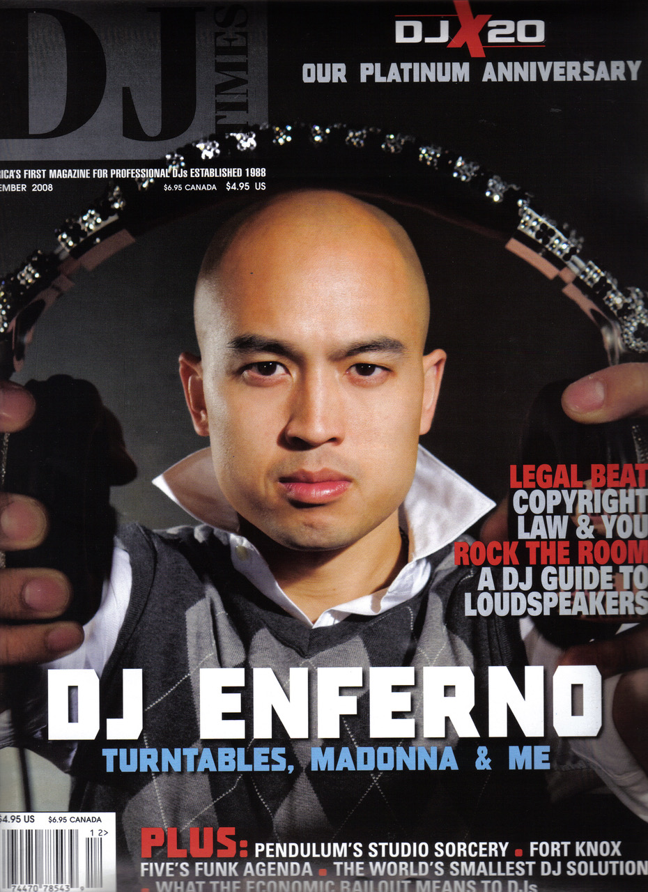 DJ Times Cover
