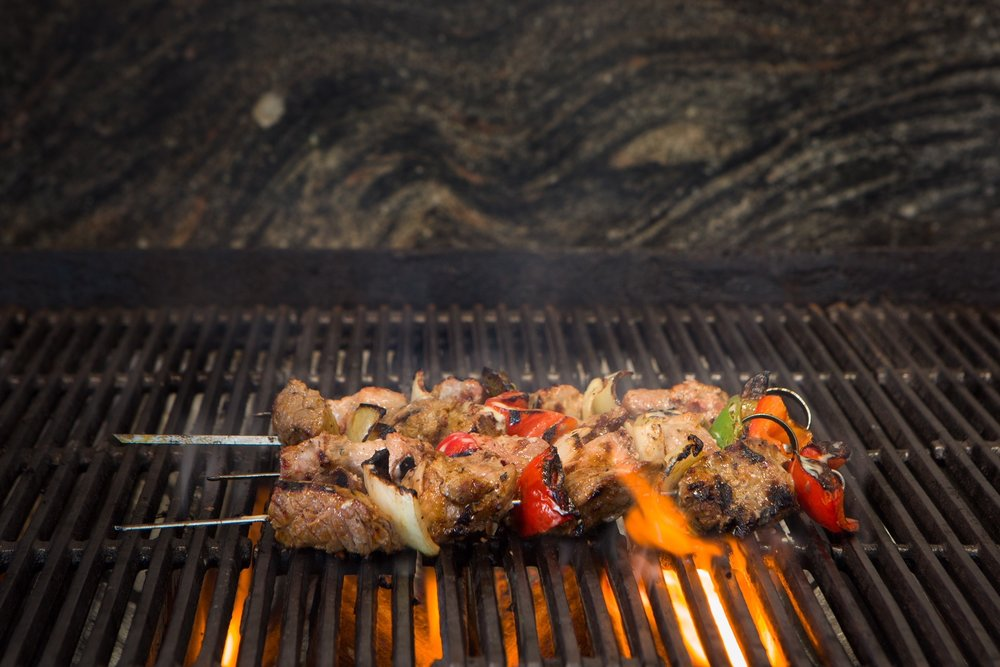 Beef, Chicken, and Lamb Kabob $6.95 each