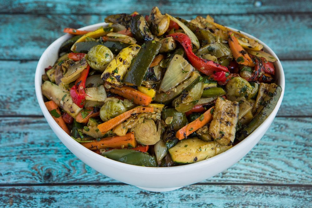 Grilled Mixed Vegetables $4.95