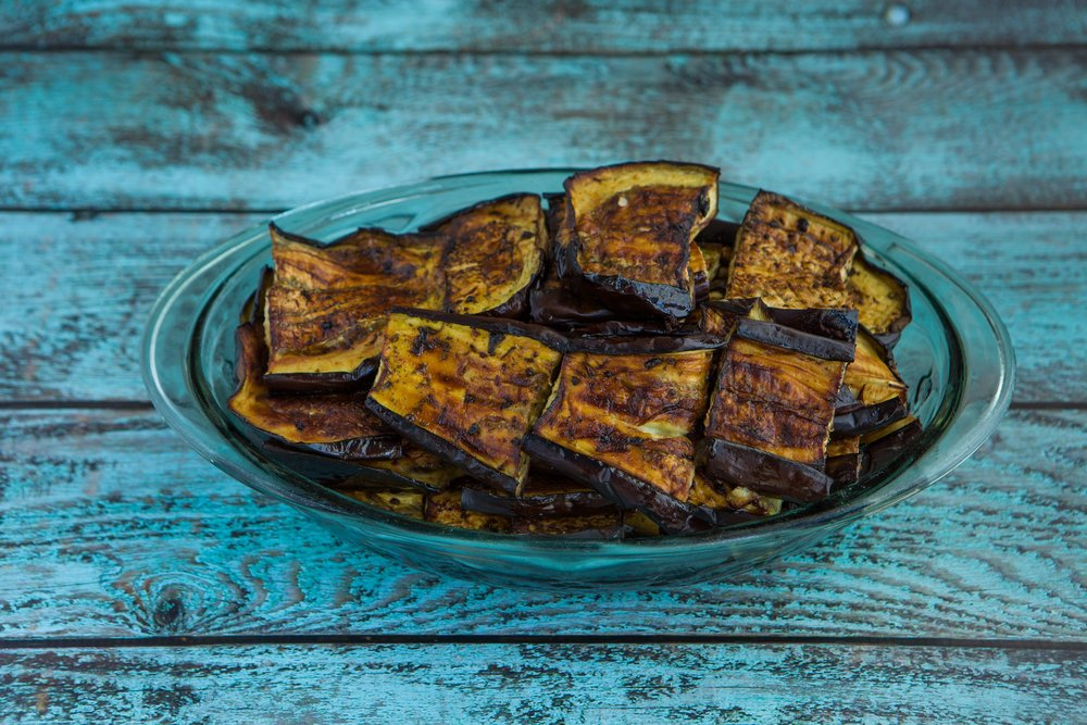 Grilled Eggplant $4.95