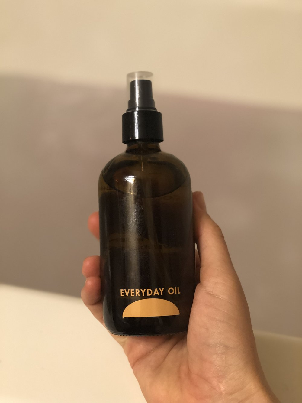 everyday oil. if you didn't know, now you know. it's fantastic and feels good… everyday. also, where you might ask? everyWHERE. srsly. put it everywhere. when you smell it, you'll hardly be able to resist anyhow!