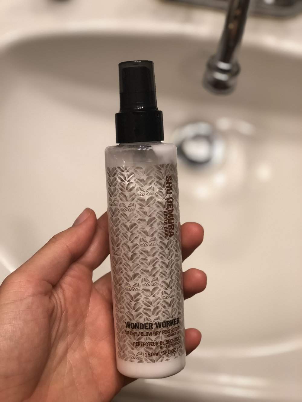 this wonder worker bottle should be wearing a cape. serious business requires a cape. this is the perfect light weight product post-bath or shower!