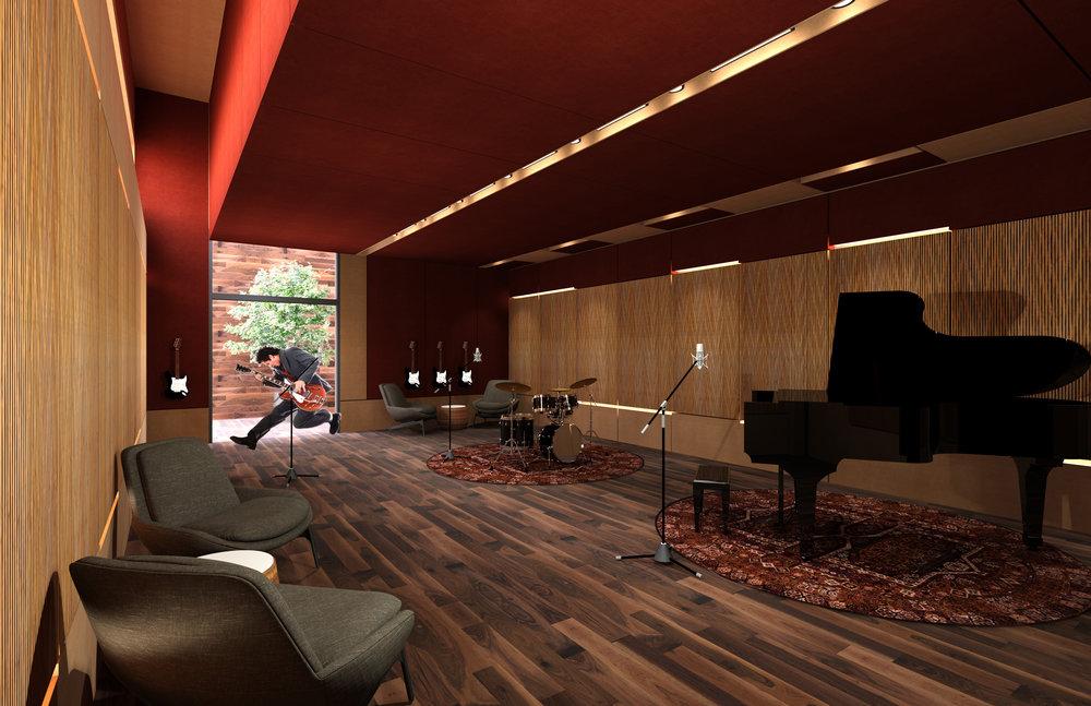 hunan recording studio studio 440 architecture acoustics