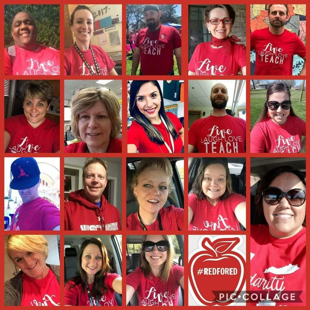 State Teachers of the Year are #RedforEd.