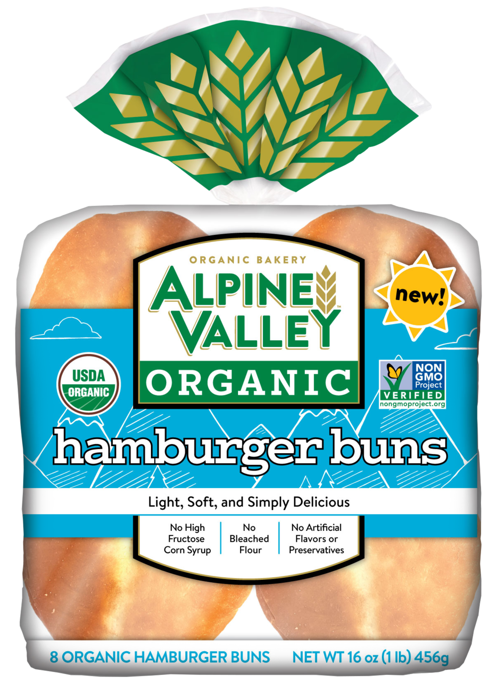 Alpine Valley Bread - Hamburger Bun - Front.png