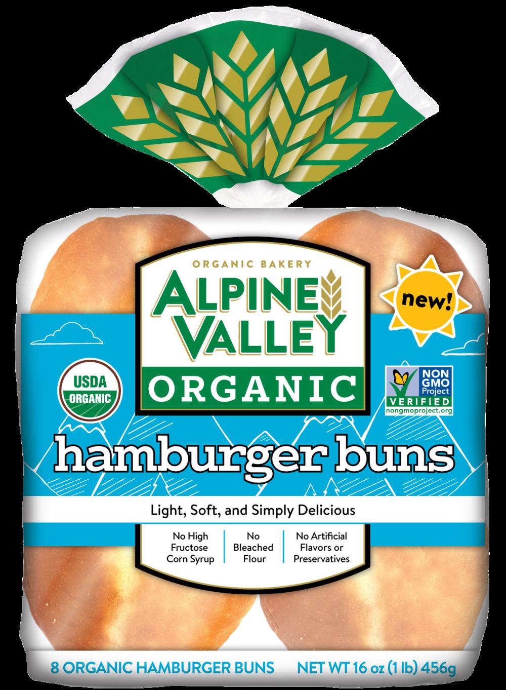 Alpine Valley Bread - Hamburger Bun - Front.png