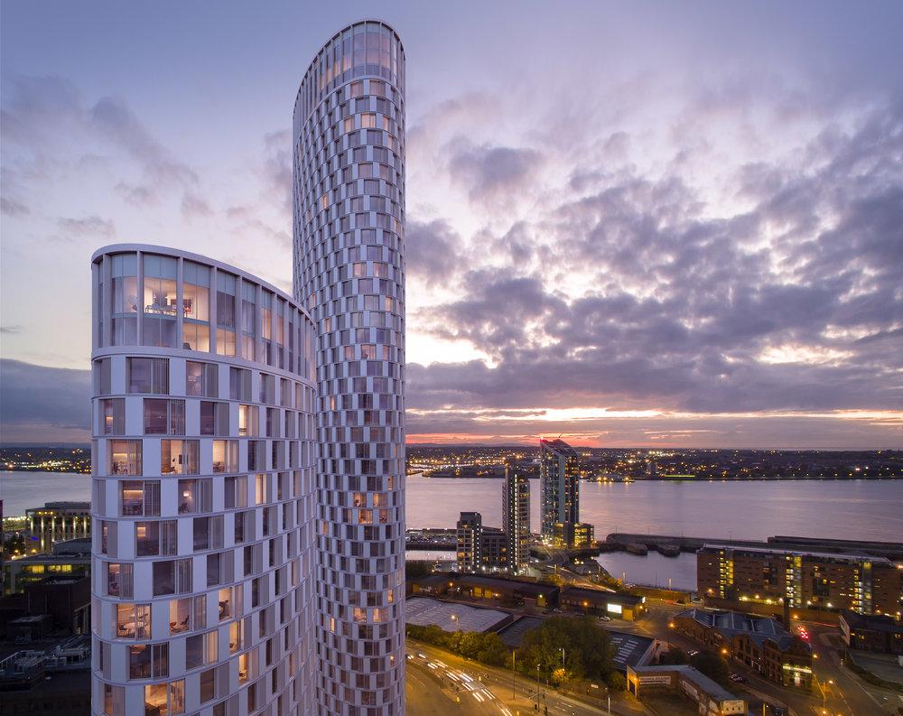 Ovatus Towers Liverpool Martin Wilcocks