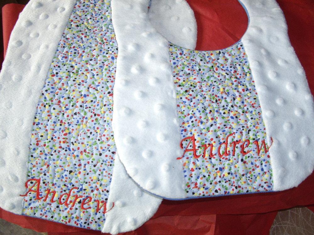 Custom Minky Bib n Burp Cloth.jpg
