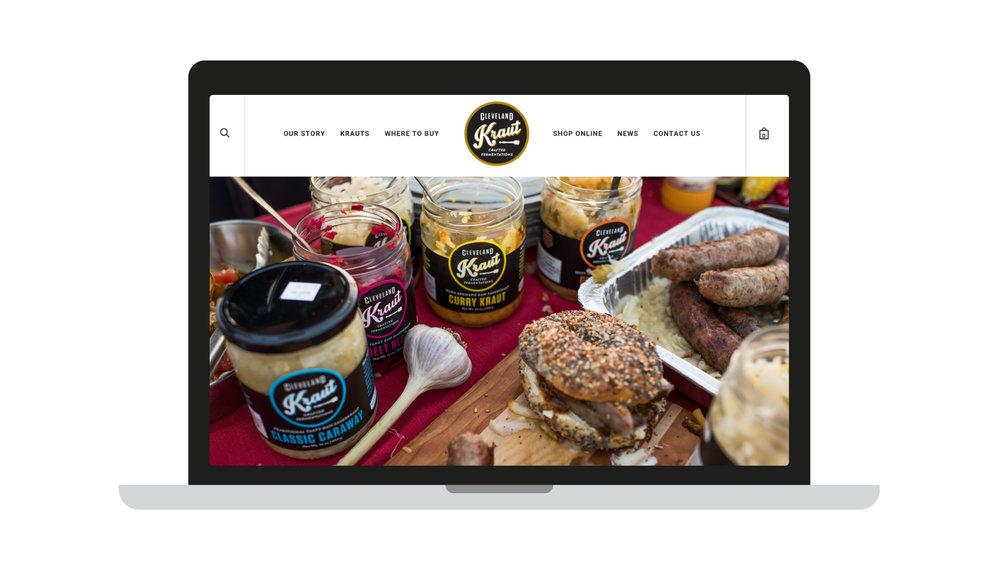 Agnes Studio Cleveland Kraut website