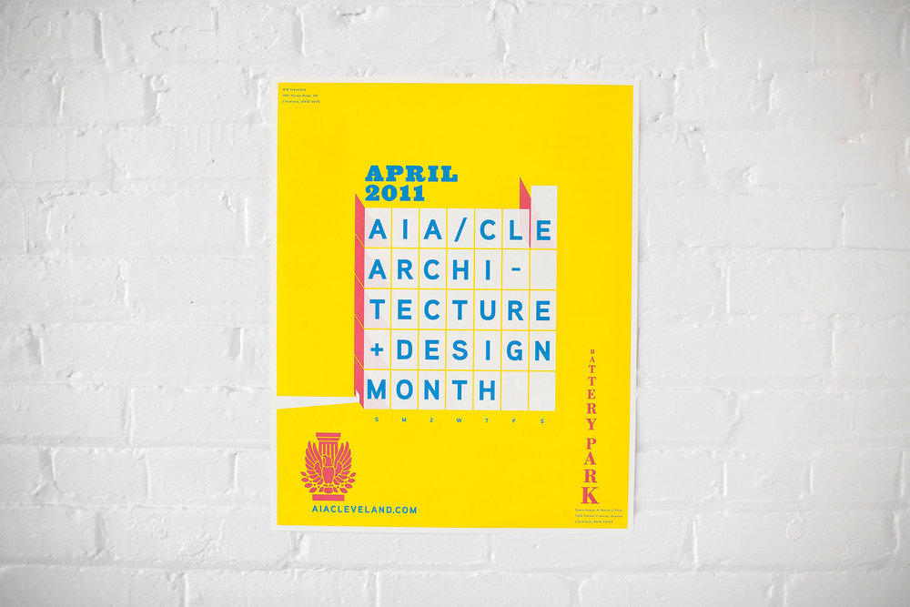 Agnes Studio American Institute of Architects poster