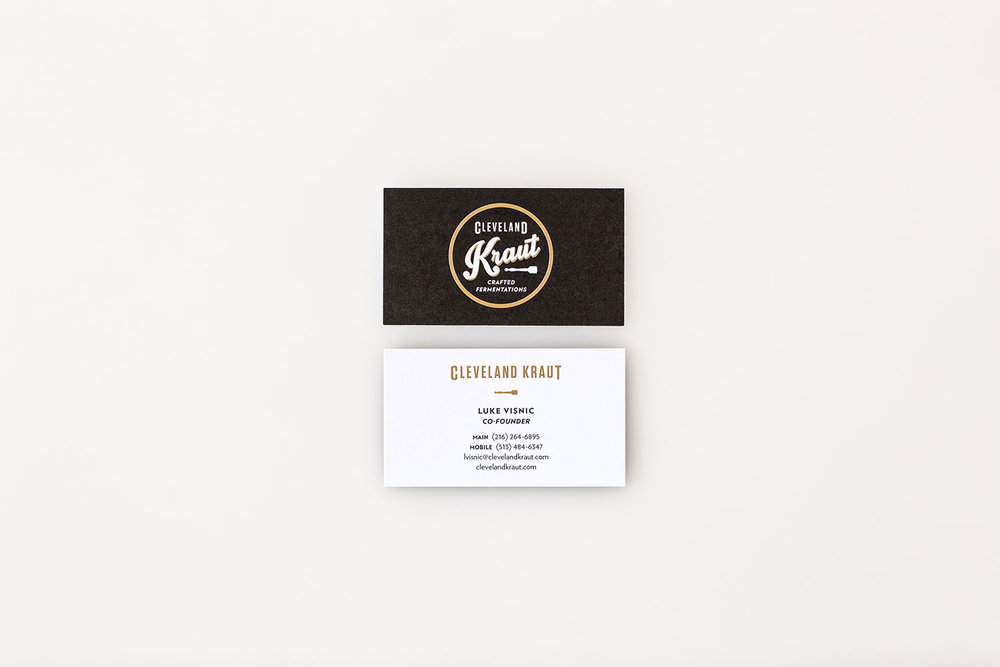 Agnes Studio Cleveland Kraut business card