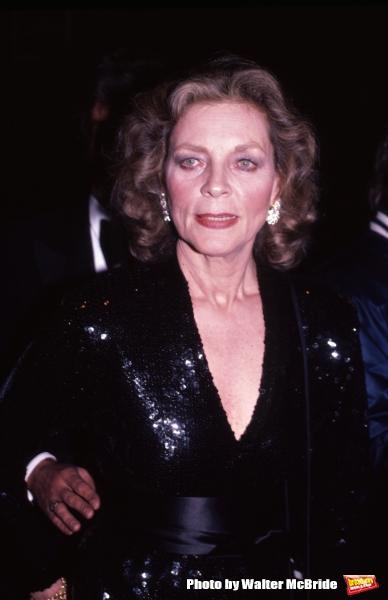 1984-95: Lauren Bacall