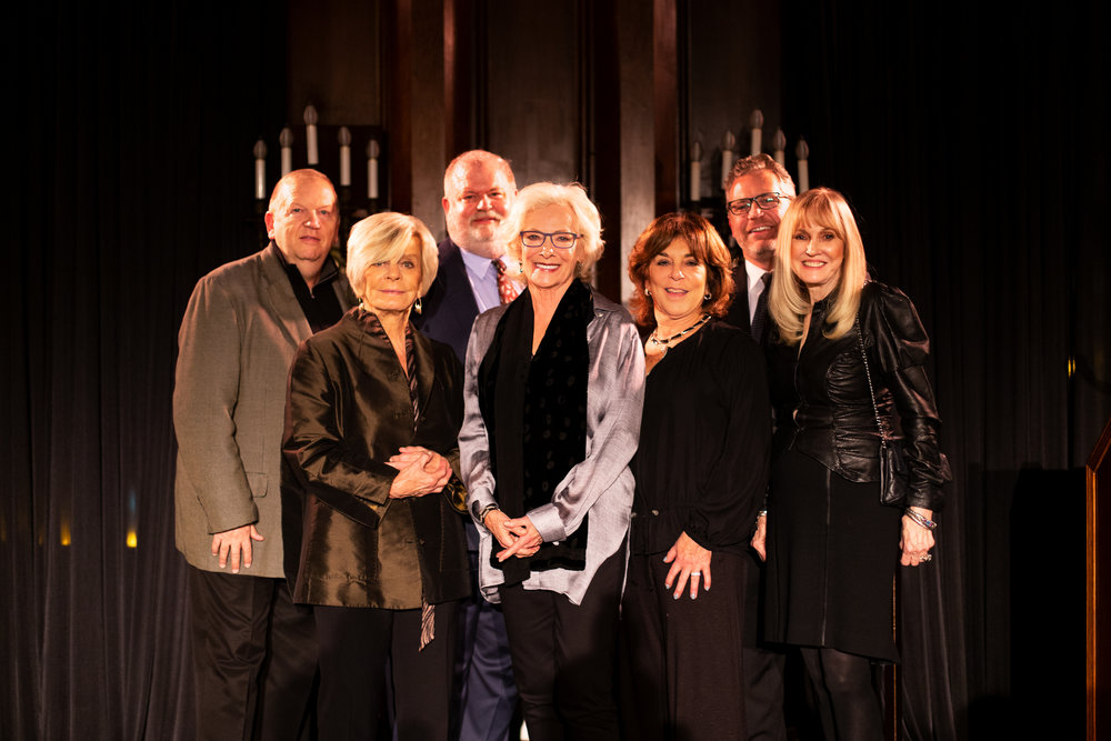 Board members with Betty Buckley