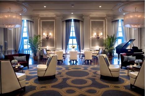 Conrad Hilton Suite at the Hilton Chicago, Trevor Morrow Travel