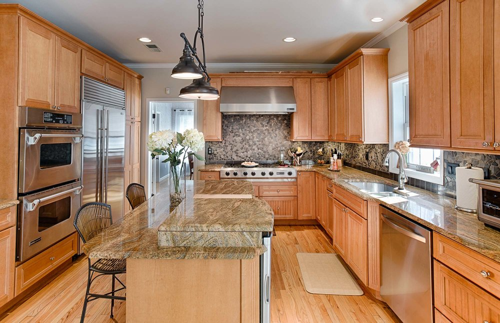 kitchen of a home for sale in mahopac ny