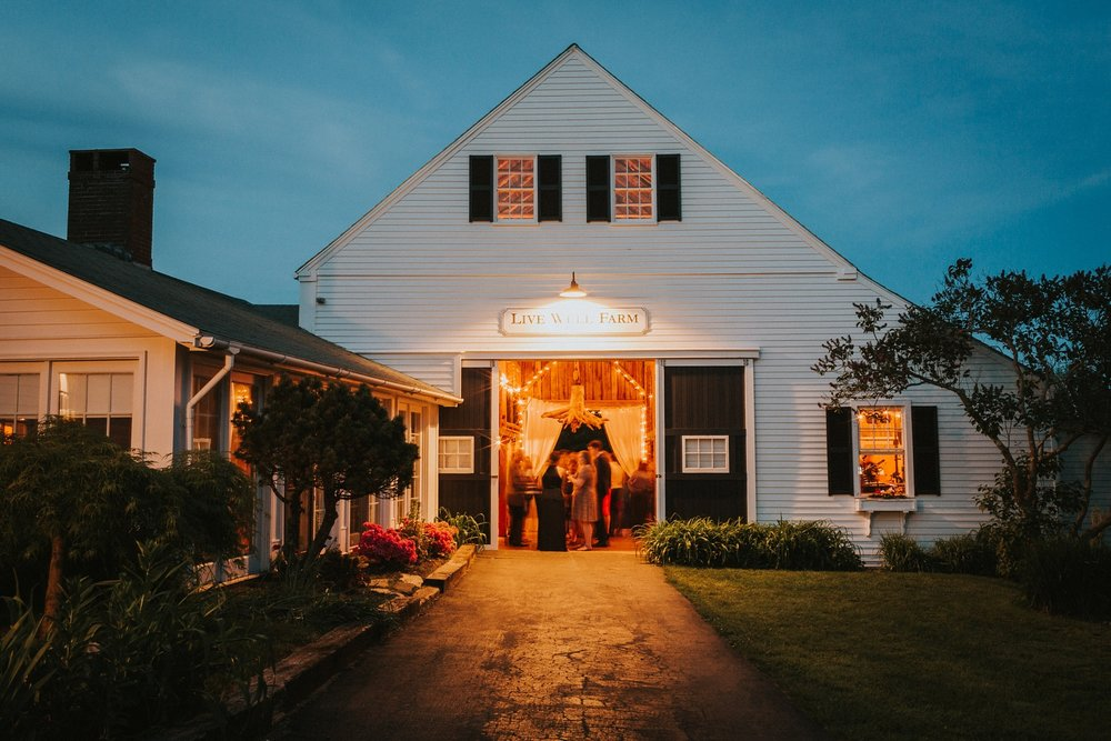 farm maine wedding
