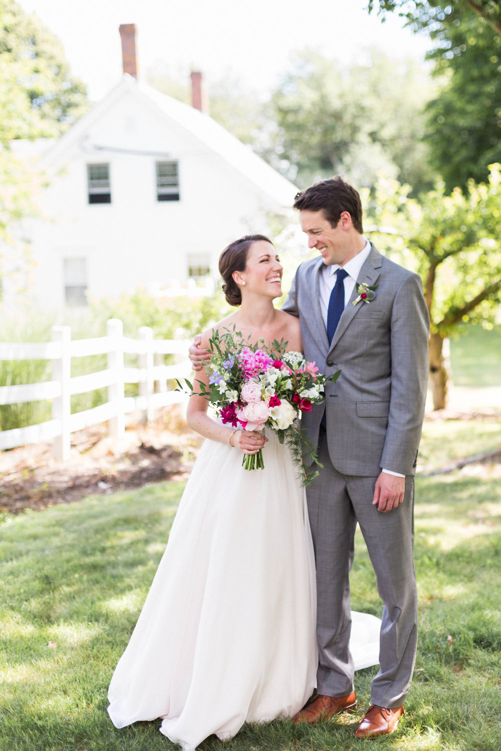 classic timeless maine wedding