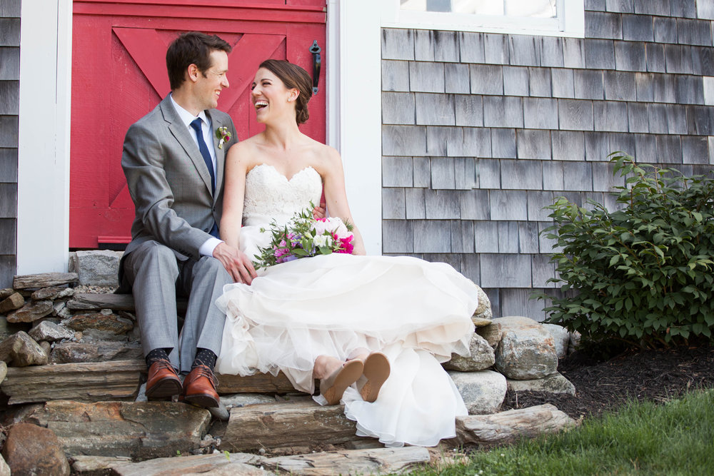 maine barn wedding classic