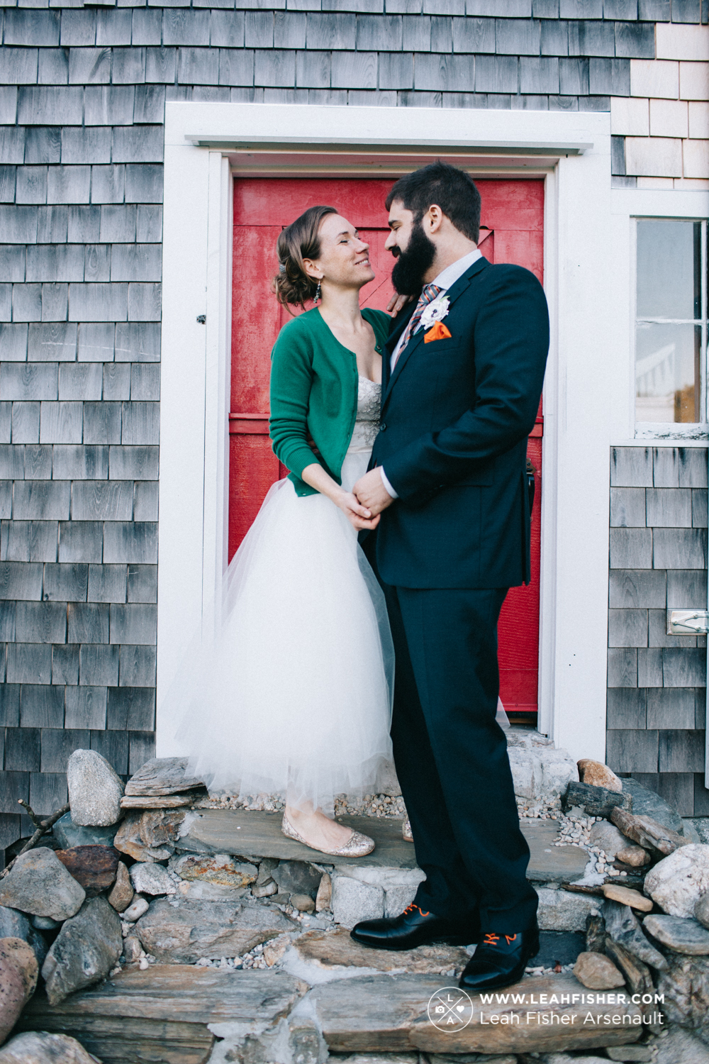 fall outdoor wedding maine