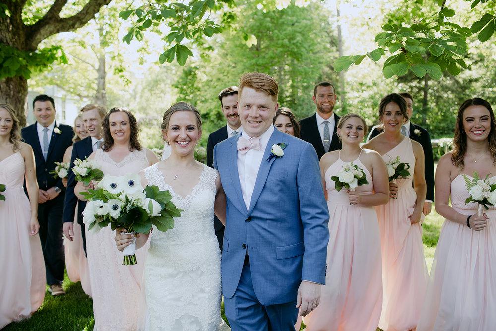 preppy coastal maine wedding