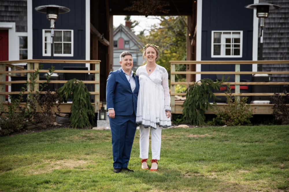 """Most of all, we have great appreciation for the way in which our wedding guests were made to feel welcome on our special day, and how all of the attention Patty and Geneva paid to the details resulted in effusive compliments which are STILL being paid in our guests' holiday greeting cards to us!"" - Deb & Nanci, September 22, 2018"