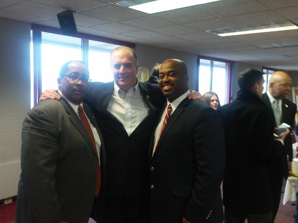 Anthony Turner - Development Director and Stacey Swimp with the Honorable Dan Kildee