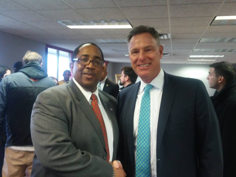 Anthony Turner - SBEV Development Director and the Honorable Scott Peters, Ranking Member of the House Committee on Oversight and Government Reform D-Calif.