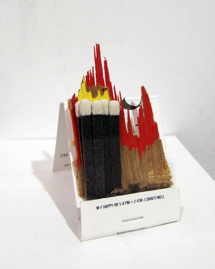 Matchbook Fire #1 (Dardy Bar)