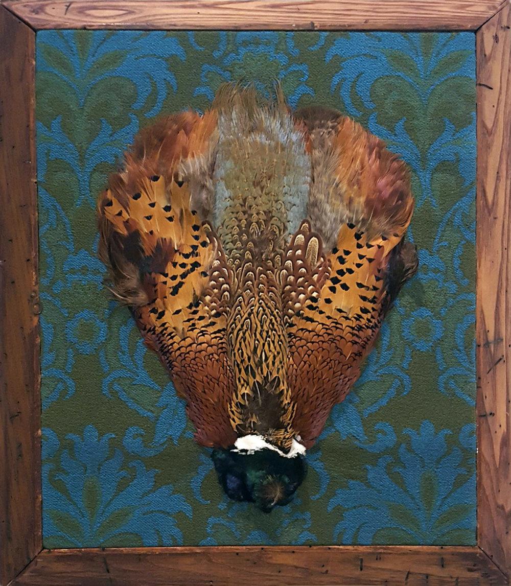 Pheasant Mask Tapestry