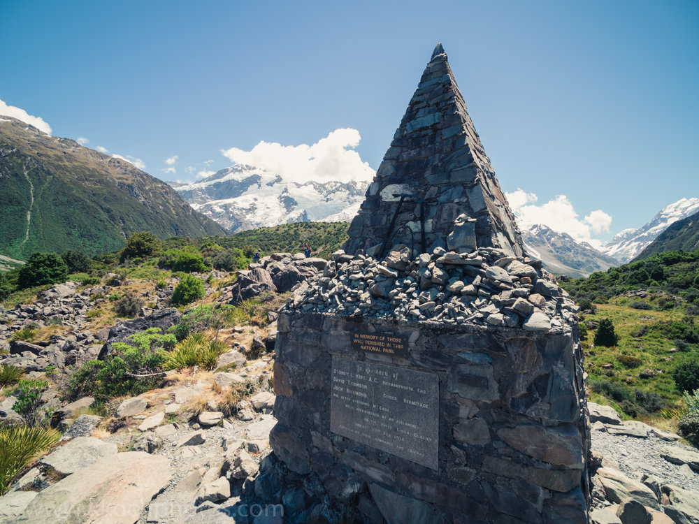 memorial for all lives lost on the mountain